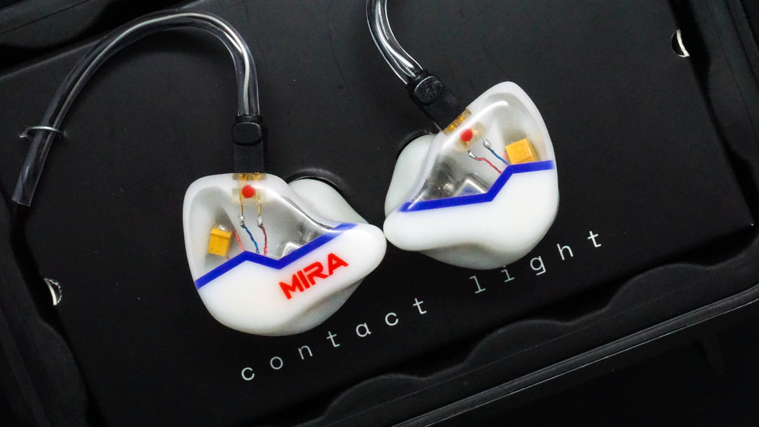 Mira, custom in-ear monitor by Arc